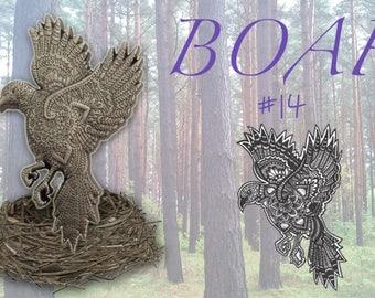 Mandala Bird BOAF#14
