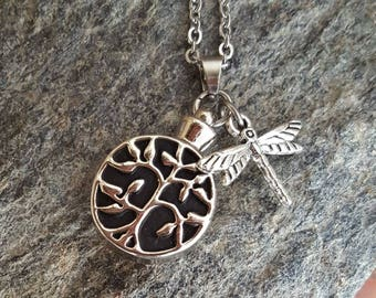 Tree of Life Cremation Urn Pendant | Ash Keepsake Necklace | Urn Jewelry | Tree of Life Urn | Cremation Jewelry | Urn Necklace | Remembrance