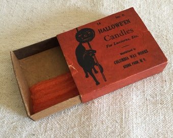 Halloween Candles Box for Lanterns, etc.
