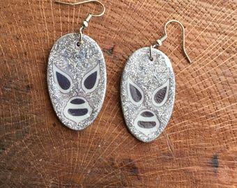 lucha libre earrings El Santo