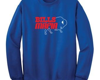 Bills Mafia Crew Sweatshirt
