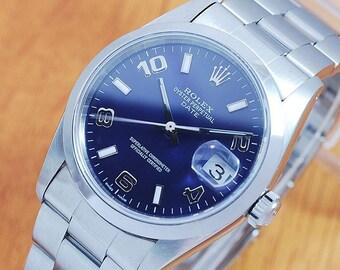 Rolex 15200 Oyster Perpetual Date Arabic Automatic Men's Watch!