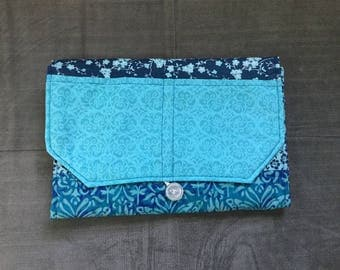 Portable Diaper Changing Pad: Ocean Blue Edition