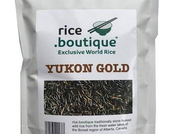 """rice.boutique """"YUKON GOLD"""" - finest Canadian wild rice, 200g, Gluten Free"""