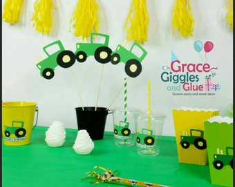 4pc Tractor Centerpiece