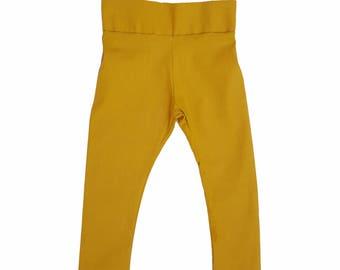Tyler Cigarette Pants in Mustard