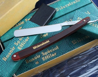 Vintage French made NOS Straight Razor - Widerstrahl - 3/8 Shave-Ready, Made in France