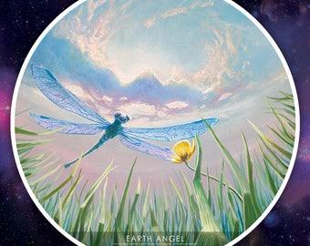 Earth Angel STICKER