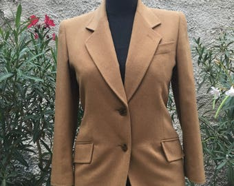 Vintage 90's stunning camel blazer I.1981 Marly's