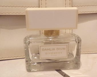 Bottle perfume bottle empty Dahlia Divin Givenchy Paris