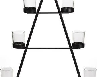 Candle holder for tealight Christmas tree 50 cm