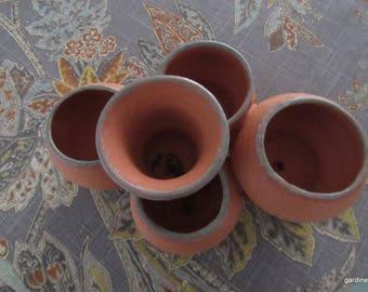 custom made for kf..MULTIPOT TERRA COTTA
