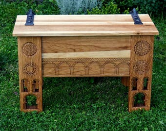Medieval chest, free reproduction from Sion- OAK