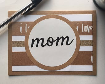 Mother's Day Card | Birthday Card for Mom | Mother's Day Gift | Birthday Gift for Mom