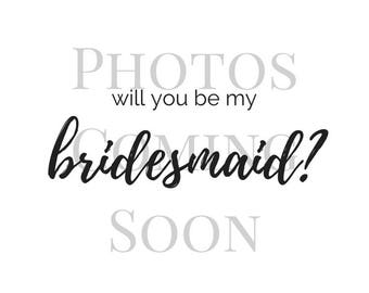 Set of 8 Bridesmaid Proposal Cards | Bridesmaid Proposal | Bridesmaid Gift | Bridesmaid Card