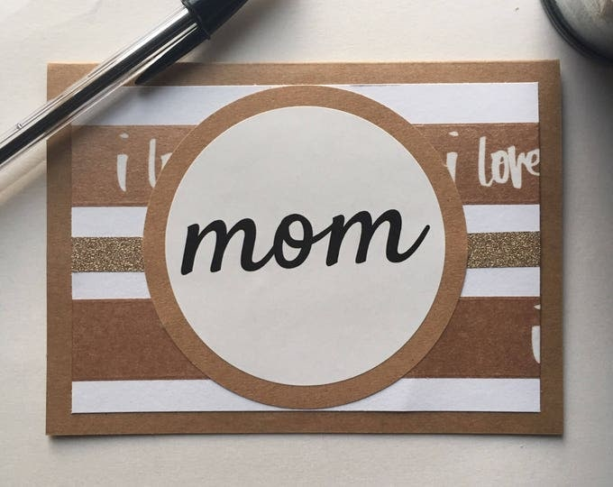 Mother's Day Card   Birthday Card for Mom   Mother's Day Gift   Birthday Gift for Mom