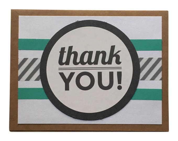 Thank You Card, greeting card
