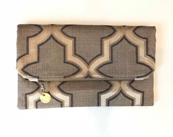 Remnants Foldover Clutch