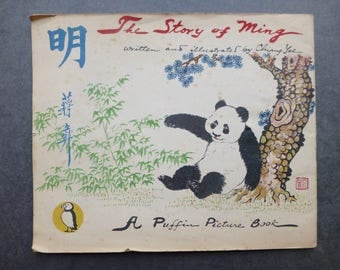 The Story of Ming by Chiang Yee - A Puffin Picture Book 1945