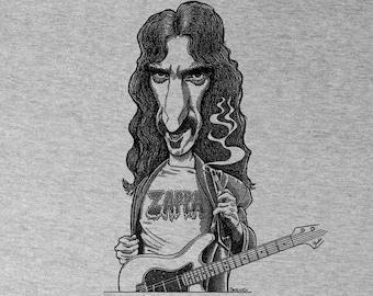 Frank Zappa Guitar  Shirt