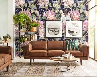 Vintage Floral Wallpaper - Flowers Wallpaper - Bucolica Wallpaper.