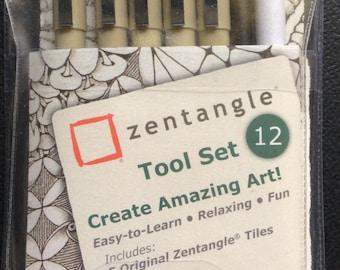 12 piece Zentangle Tool set