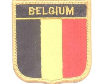 Belgium Patch (Iron on)