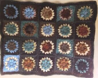Crochet Wool Blanket for Ikea Doll Bed