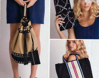 Simplicity 2350 Sewing Pattern for 3 Types of Bags by Cynthia Rowley