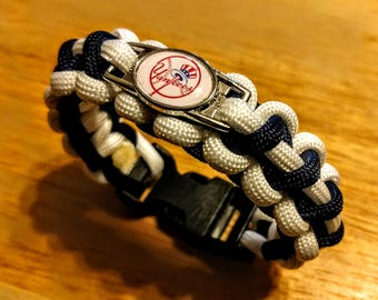 New York Yankees Inspired Paracord Bracelet