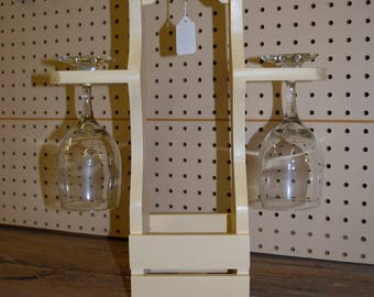 Wine Caddy with Glasses