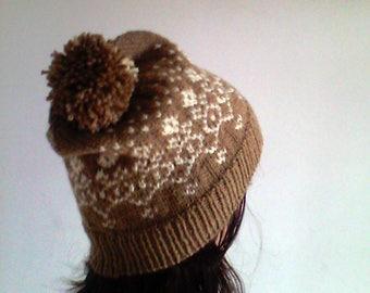 PDF Knitting PATTERN - Dalat Hat
