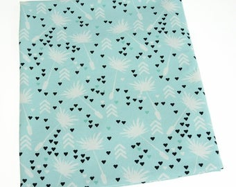 dandelion jersey, jersey fabric, sewing fabric, sweatshirt fabric, cotton fabric, dandelion fabric, fabric yardage, fabric for sewing