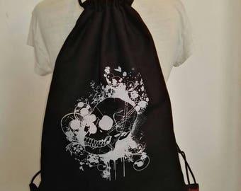 Turn bag / backpack skull
