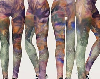 Glitter Leggings Etsy