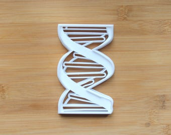 DNA Helix Science 3D Printed Cookie Cutter