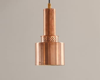 Hans Agne Jakobsson - Early ceiling pendant in copper from 1958