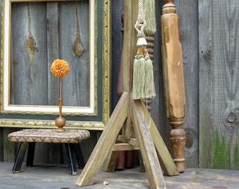 Vintage Coat Tree, Vintage Hall Tree, Vintage Coat Rack, Wood Hat Rack