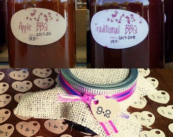 BBQ Sauce, Wedding favor, BBQ Sauce favors, bbq sauce wedding favors, custom favor, custom favor, customizable~spread the love