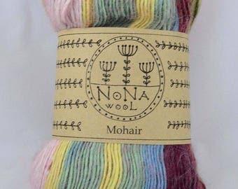 100g Farbverlaufsgarn Wolle NoNA WooL Mohair Nelipot