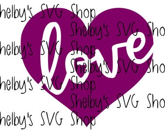 Love Heart - SVG
