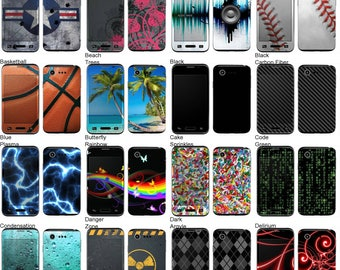Choose Any 2 Designs - Vinyl Skins / Decals / Stickers for LG Optimus Zone 2 Android Smartphone
