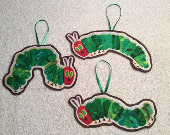 The Very Hungry Caterpillar Ornaments-Set of 3