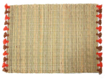 LOLA placemats with tassels - set of 2 ST-HONORE
