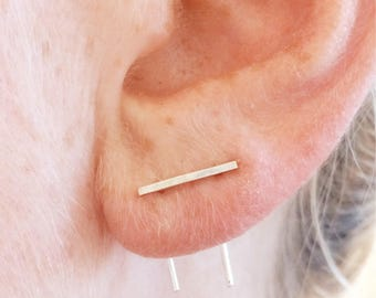 Double piercing bar
