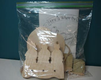 Craft Kit:  6 Wood Projects