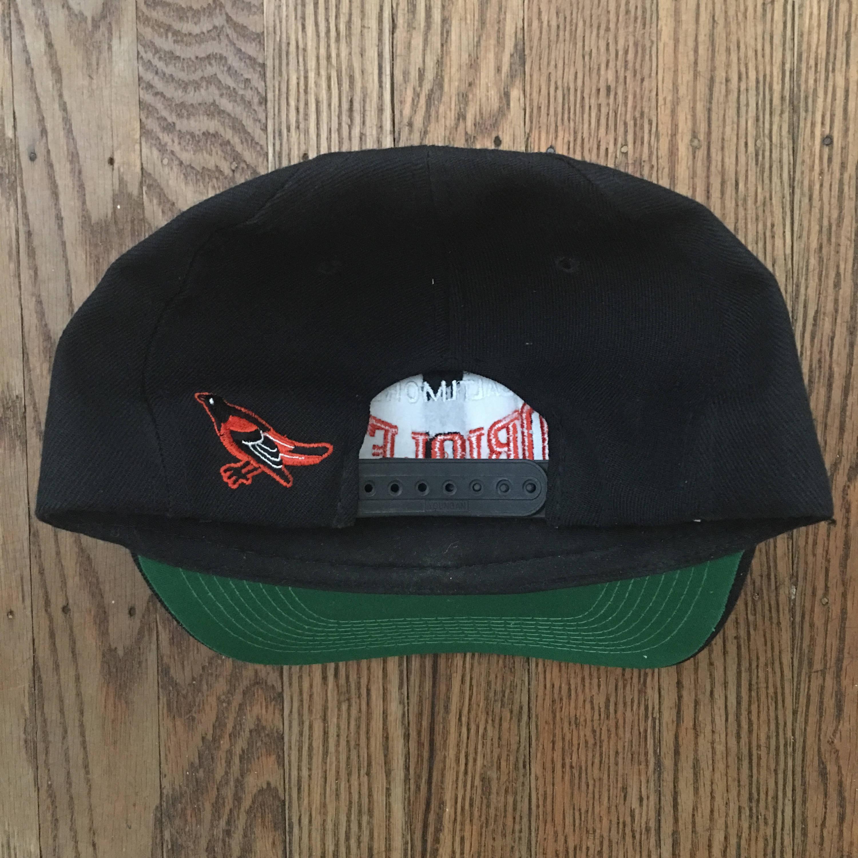 53961c06c91 Vintage 90s Baltimore Orioles MLB Snapback Hat Baseball Cap ...