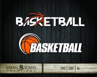 Basketball SVG Cut Files - Vinyl Cutters, Screen Printing, Silhouette, Die Cut Machines, & More