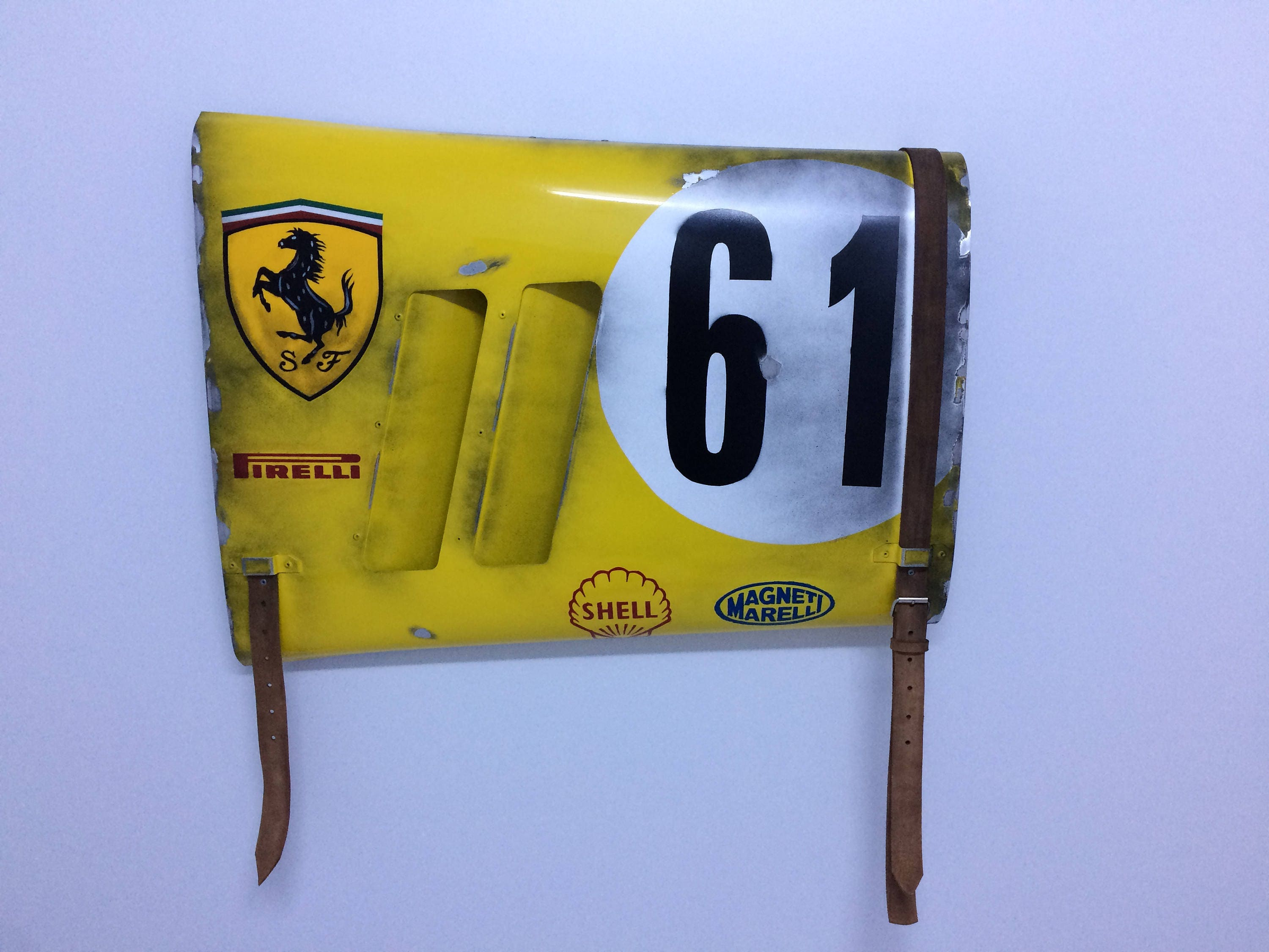 Ferrari Grand Prix Race Car Fender Panel Bugatti and Bentley race ...