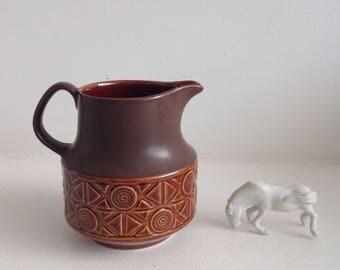 Vintage geometric Beswick jug